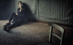 Andrea Bosca por Boo George para L'Uomo Vogue