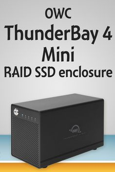 Get Thunderbolt 2 RAID SSD storage in a portable size with OWC's new ThunderBay 4 Mini!  #Podcasting gear video from #NMX and #NABshow