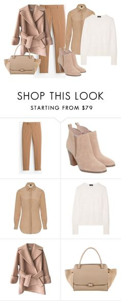 """bvhjhbknm"" by v-askerova on Polyvore featuring мода, White House Black Market, Michael Kors, Sophie Cameron Davies, rag & bone, Carven и CÉLINE"
