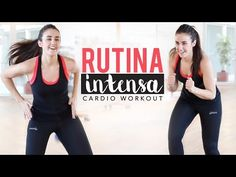 Rutina intensa 15 minutos | Cardio workout - YouTube