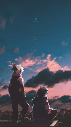 Bakugou and Deku wallpaper by Ballz_artz - 9f - Free on ZEDGE™