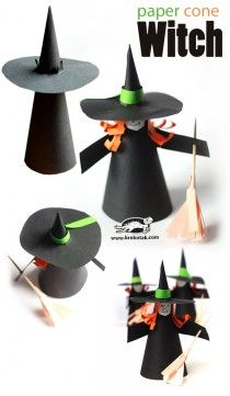 Halloween is just around the corner and you are still confused about the props to be used in the party? Have a look at the amazing DIY Halloween crafts you can make at home instantly. Theme Halloween, Halloween Arts And Crafts, Halloween Projects, Holidays Halloween, Halloween Diy, Holiday Crafts, Halloween Makeup, Halloween Witches, Halloween Costumes