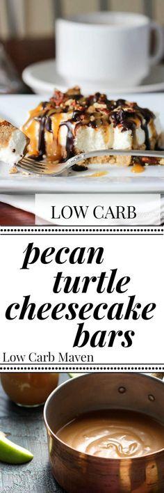 Pecan Turtle Bars Recipe — Dishmaps