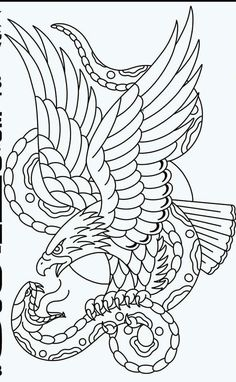 I quite simply fancy the tints, lines, and depth. This is really an incredible concept if you are looking for a Traditional Eagle Tattoo, Traditional Tattoo Old School, Traditional Tattoo Design, Traditional Tattoo Stencils, Tattoo Drawings, Body Art Tattoos, Sleeve Tattoos, Wing Tattoos, Tattoo Motive