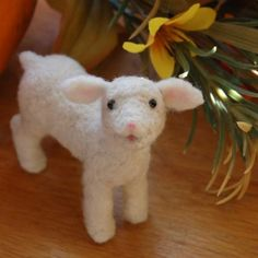 Needle Felted Lamb by Teresa Perleberg