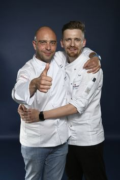 Marcin Popielarz and his Mentor Wojciech Modest Amaro representing East Europe. Photo credit: Gianni Rizzotti.