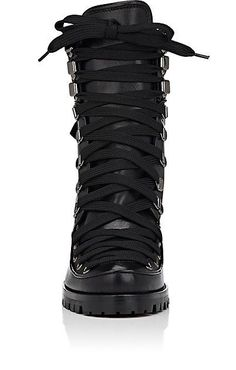 Christian Louboutin Who Runs Leather Ankle Boots - Boots - 504755859