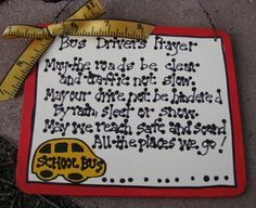 school bus driver end of year gift ideas M&Ms - Google Search