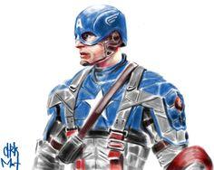 #CaptainAmerica #SteveRogers #ChrisEvans #Avenger #Avengers