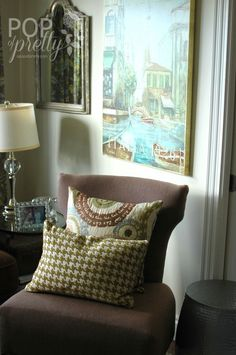 A Pop of Pretty: Canadian Decorating Blog - http://apopofpretty.com/decorating-a-piano-room/