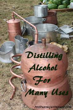 Distilling Alcohol For Many Uses