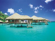 Turquoise Paradise, Tahiti, French Polynesia