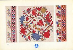 Bulgarian embroidery from the DMC Library ~ Bulgarian Embroideries. TH.de Dillmont