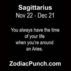 I know.....my best friend is an Aries