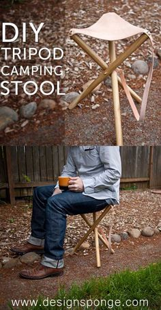Ridiculously Cool DIY Crafts For Men. Camping StoolDiy ... Photo Gallery