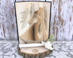 House warming House move New Home Folded Book Art Gift present