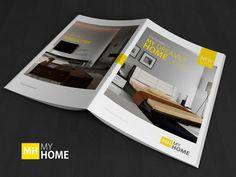 A4 Brochure/Magazine Mock-up on Behance