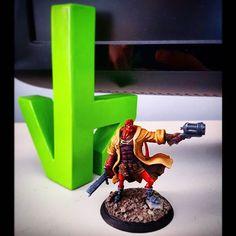 SORTEO!! Por llegar a los 500 seguidores hemos decidido sortear a nuestro #hellboy.  Solo tienes que seguir estos pasos: 1. Dar me gusta a esta publicación. 2. Seguir esta cuenta. @victor_bf85 3. Mencionar a dos amigos tuyos.  El sorteo lo haremos el fin de semana que viene. Este primer sorteo solo podemos hacerlo para dentro del territorio español esperemos para el siguiente ampliar. A jugar!! #3d #3dprinter #3dprint #art #miniaturepainting #miniature #paintingminiatures #sorteo #present… Anet A8, Base, 3 D, Mini, Instagram, Painting, Followers, Make Envelopes, Fonts