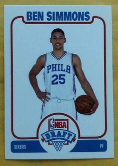 33bdf52de27 2016 Ben Simmons Philadelphia 76ers Sixers LSU Tigers rc custom rookie NBA  Draft