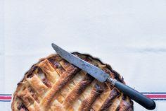 Ham, leek and cheddar pie // Celia Hay