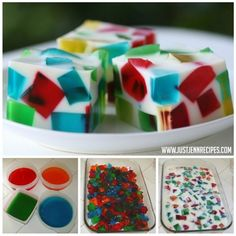 Stained Glass Window Jello