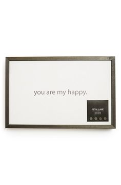 MIKEYLIN'S Petal Lane 'You Are My Happy' Magnet Board available at #Nordstrom