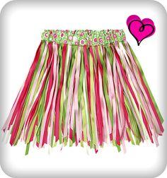Toddler Ribbon Skirt tutorial (perfect for twirling!) : Toddler Ribbon Skirt tutorial (perfect for twirling! Sewing Clothes, Doll Clothes, Toddler Outfits, Kids Outfits, Hula Skirt, Ribbon Skirts, Dress Up Boxes, Skirt Tutorial, Dress Up Outfits