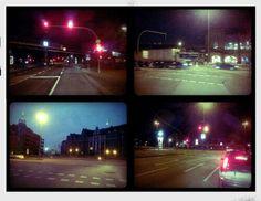 - Hamburg - Streets at Night - Lomo - Toycam - Boxkamera - Analog Fotografie -