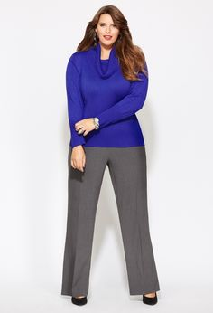 1159e19a247 Plus Size Business Casual Clothing. Business Outfits Women