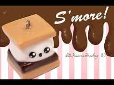 ◕‿◕S'more! Kawaii Friday 83 - Tutorial in Polymer clay!