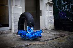 Pixel Pour Street Art Installation, NYC by Kelly Goeller Graffiti Artwork, Street Art Graffiti, Outdoor Art, New York Street, Public Art, Installation Art, Art Installations, Urban Art, Deco