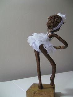 Escultura de bailarina. Hecho a la medida por Stephaniessculptures