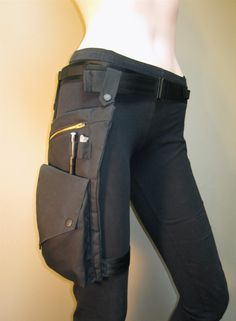 Black Gold Utility Wear Pocket and Belt. $87.00, via Etsy.