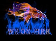 Broncos is on fire Denver Broncos Super Bowl, Denver Broncos Football, Go Broncos, Broncos Fans, Football Fever, Broncos Pictures, Eric Decker, John Elway, Football Quotes