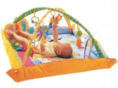 Tapete para Bebê Gymini Playground - Sons Clássicos e Vozes de Animais - Tiny Love