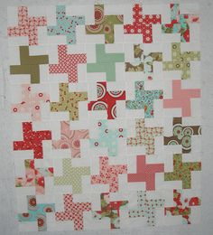 Charm Quilt - need two charm packs.