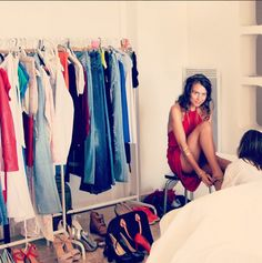 Getting ready for a beautiful photo shooting on a lovely day! xoxo www.bestyledberlin.de <3