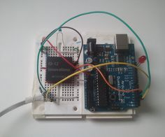 In this project, you'll learn to read an RFID tag using the Innovations ID-12 reader and an Arduino Duemilanove.