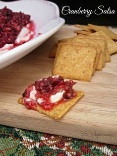 cranberry salsa is t