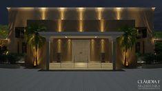 Ficha técnica: Projeto: Salão de Eventos -Autora do projeto: Arquiteta Cláudia F. Ferreira Data: 2016 Local: Sorocaba SP - 3D Design de Cad - www.claudiafarquitetura.com.br
