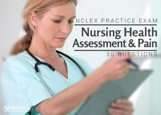 This nursing exam covers the concepts of Nursing Health Assessment and Pain. Test your knowledge with this 30-item exam. Get that perfect score in your NCLEX or NLE exams with this questionnaire.