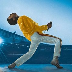 See the latest images for Freddie Mercury. Listen to Freddie Mercury tracks for free online and get recommendations on similar music. Queen Freddie Mercury, Freddie Mercury Tattoo, Freddie Mercury Quotes, Fancy Dress Yellow, Elvis Presley, Freddie Mercuri, Rainha Do Rock, Yellow Costume, Rock Poster