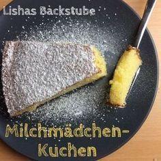 Milchmädchen-Kuchen #milchmädchenkuchen #milchmädchen #gezuckertekondensmilch #kondensmilch #backen #food #foodblog #foodblogger #blog #blogger #rezept #adventskalender #backstubenadeventskalender #lishasbackstube #puderzucker #cake #einfach #schnell