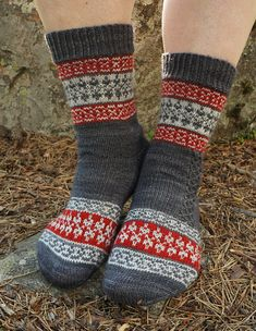 Echoes from Karelia sock pattern is a tribute to my mother's North Karelian…