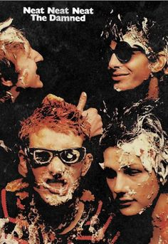 Punk Poster, Poster Boys, Pop Posters, Band Posters, The Damned Band, Goth Bands, New Wave Music, Music Collage, 70s Punk