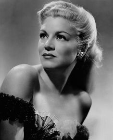 """Claire Trevor (1910 - 2000)  Academy Award-winning American actress. She was nicknamed the """"Queen of Film Noir"""" because of her many appearances in """"bad girl"""" roles in film noir and other black-and-white thrillers. She appeared in over 60 films.  The Claire Trevor School of the Arts at the University of California, Irvine was named in Trevor's honor. Both her Oscar and Emmy statuettes are on display in the Arts Plaza there, next to the Claire Trevor Theatre."""