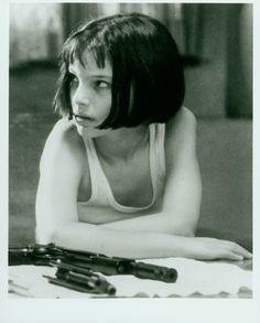 """Natalie Portman con 13 años personificó a """"Mathilda"""" de 12 años"""