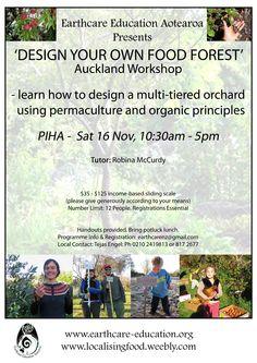 Robina's Auckland Food Forest workshop