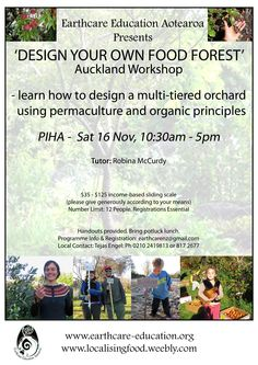 Robina's Auckland Food Forest workshop