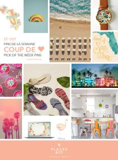 Pins de la semaine | Pins of the Week N.007 – Places  Co - #Moodboard